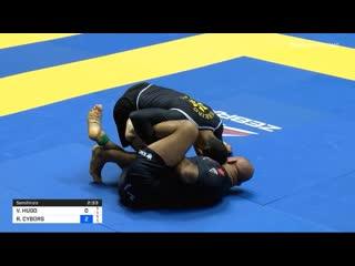 Victor hugo vs roberto cyborg abreu sf weight division #nogiworld2019