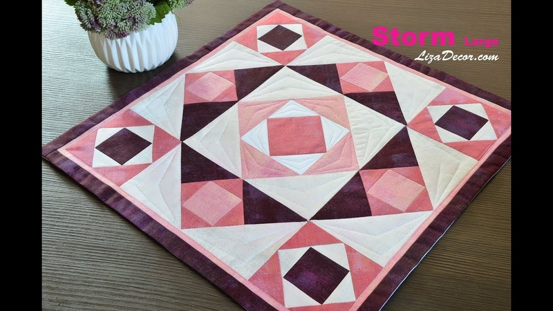 Patchwork Storm Large Flying geese Tutorial