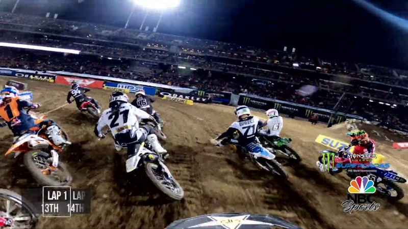 GoPro Dean Wilson 2020 Monster Energy Supercross 450 Main Event Highlights Oakland