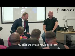What happened when james chisholm met manager sean dyche?