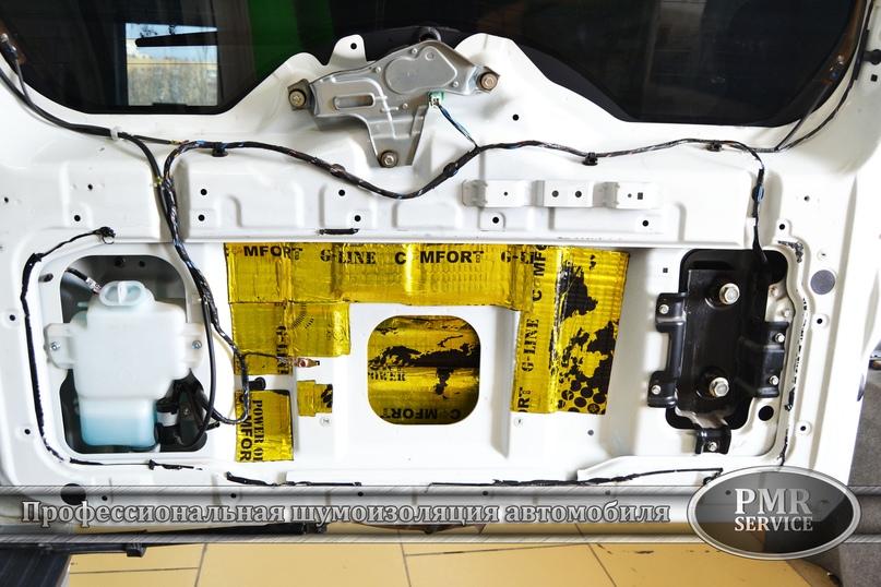 Шумоизоляция Mitsubishi Pajero, изображение №21