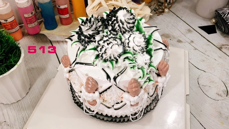 Live stream - Cake Icing Tutorials Buttercream Art-513-Hoc Banh Online Dep Va Don Gian