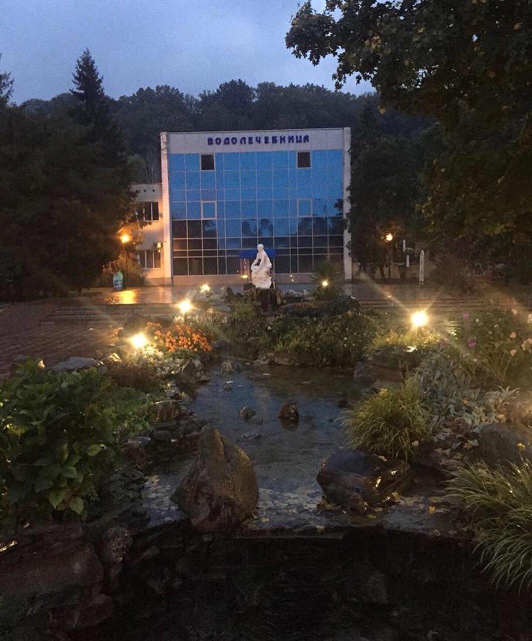 Дождливый осенний вечер