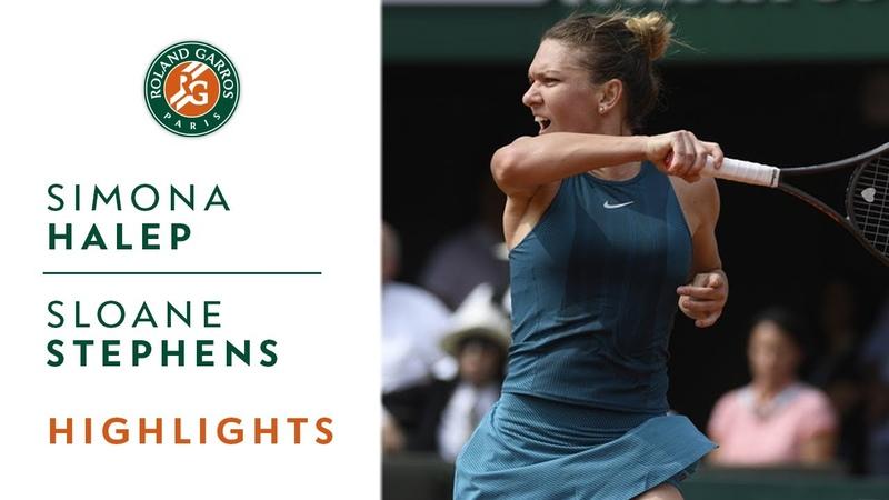 Simona Halep vs Sloane Stephens Final Highlights I Roland Garros 2018