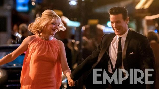 Аня Тейлор-Джой и Мэтт Смит на кадре нового фильма Эдгара Райта «Прошлой ночью в Сохо»