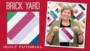 Make a Brick Yard Quilt with Jenny Doan of Missouri Star Video Tutorial
