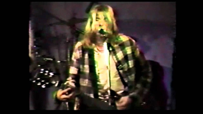 Nirvana Molly's Lips Live At Kennel Club 02 14 1990