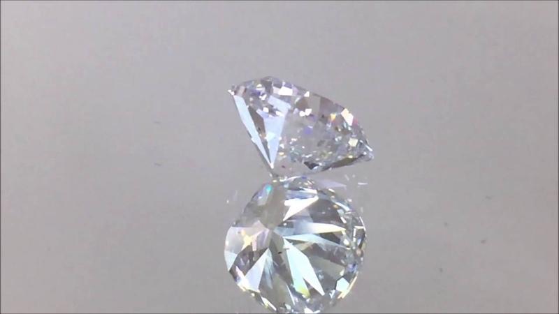 1. 57 Carat Cushion Cut Lab Grown Diamond D/SI2 - EcoDiamondUSA