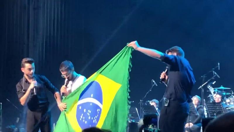 IL VOLO - Nel blu, dipinto di blu (Volare) (24/10/19) São Paulo - Brasil