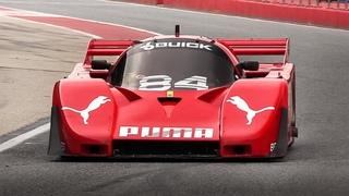 Group C Racing at Imola Circuit Porsche 956, Jaguar XJR-11, Alba Buick Turbo, Nissan R90CK