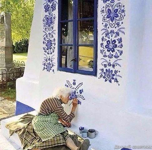Удивительная роспись бабушки Анны