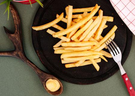 💥 Хрустящая картошка фри в ПОДАРОК!