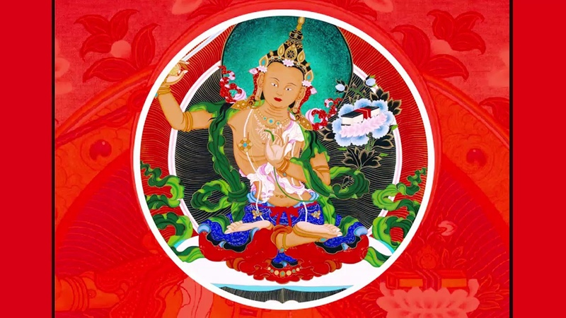 Buddhist Tibetan Music Manjushri Mantra Om A Ra Pa Ca Na Dhih