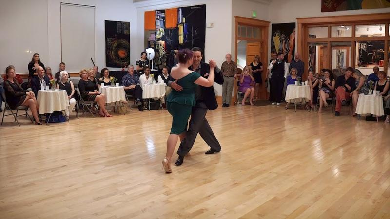 Erin Doruk at Salt Lake Tango Festival 2019 En Tu Corazon (DArienzo)