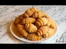 Творожные Рогалики Сахарные Рогалики Sugar Bagels Рогалики с Изюмом Простой Рецепт
