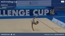 Alina Harnasko Ball AA World Challenge Cup Kazan 2019