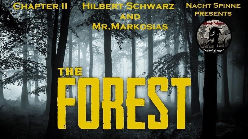 THE FOREST - Часть 2 Телепортация Бревен, Достроили Дом, Спуск в Пещеры.