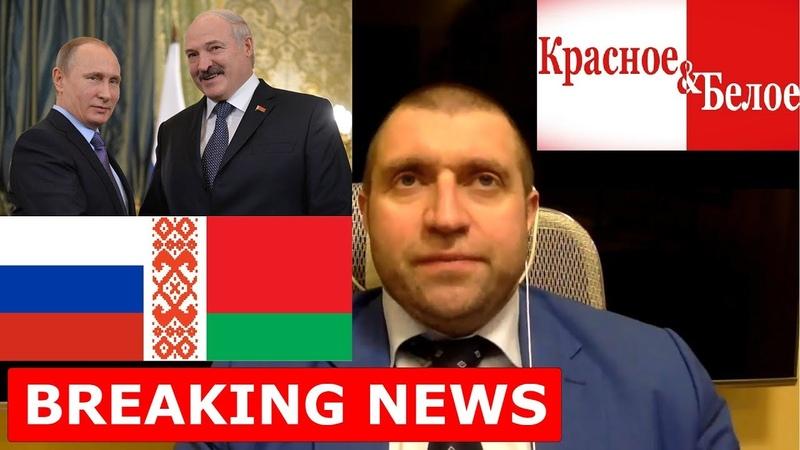 Ультиматум Путина Лукашенко. Обыски в Красное и Белое. Дмитрий Потапенко