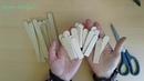 Tahta Çubuklardan Minyatür Kasa / Peçetelik /DIY