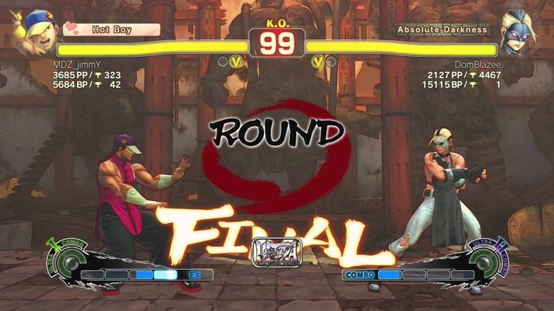 [USF4] PS4 Online Ranked DomBlazee (Decapre) vs. MDZ_jimmY (Yun)