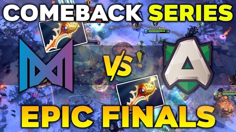 NIGMA vs ALLIANCE SUPER EPIC Comeback Series EU Grand Final StarLadder ImbaTV Minor 2020 Dota 2 смотреть онлайн без регистрации