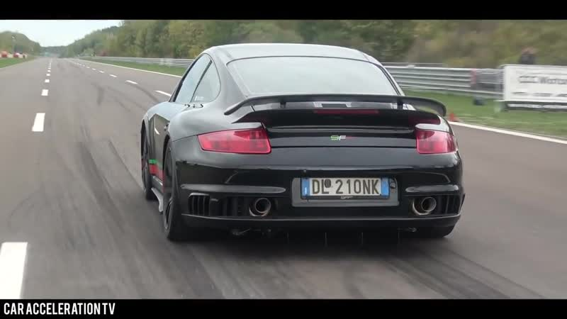 2000HP Porsche 9ff 911 GT2 Turbo Acceleration 0-350 km/h