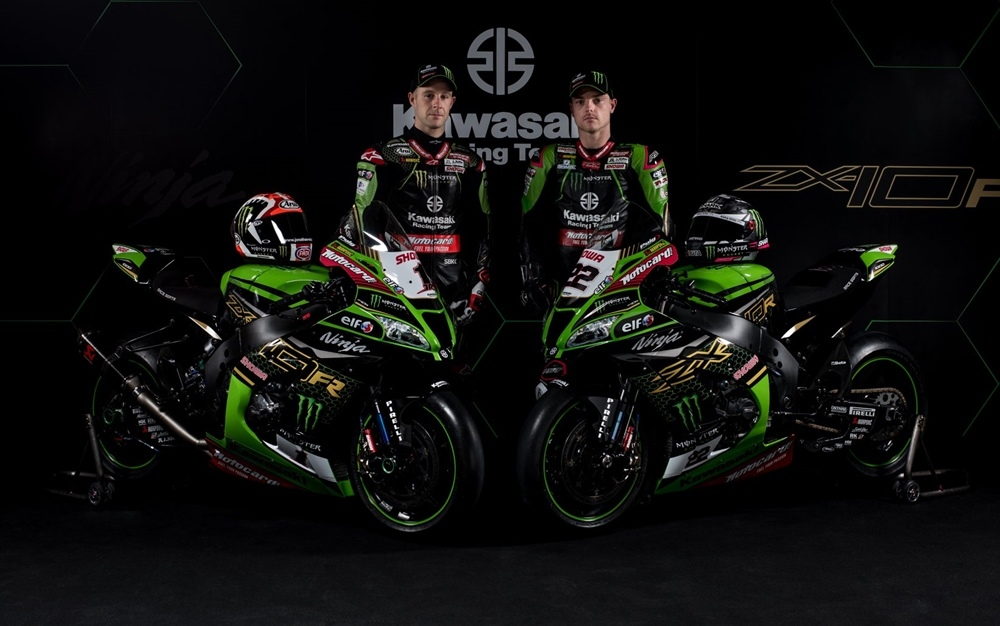 Презентация команды Kawasaki Racing 2020
