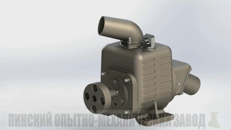 Насос самовсасывающий АНС устройство насоса Self priming pumps ANS Structure of the pump