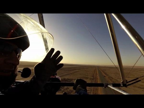 Aquilla Ultralight trike Fly by Instructor Ajmal Qazi at thumama Riyadh KSA