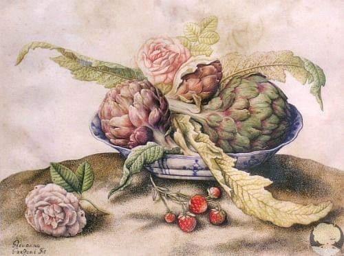 Представьте: начало 17-го века, женщина Джованна Гарцони, давшая обет целомудрия, решившая жить независимо ни от кого, самой зарабатывать себе на жизнь, путешествовать, становится художником, достигает полной экономической независимости, работает впоследс