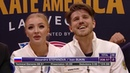 Александра Степанова Иван Букин произвольный танец на Skate America 2019