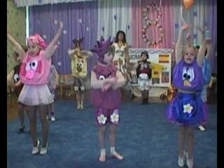 "👫 Детский танец (Kids dance) - ""Смешарики"" (""Fanny dance""). Хореограф Оксана Калинина"