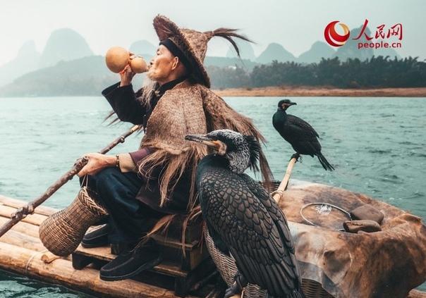 Рыбалка с бакланом  древняя традиция