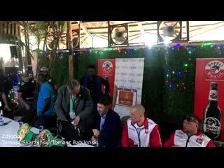 Открытая тренировка и пресс-конференция перед боем Макабу - Чеслак