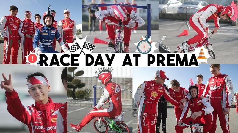 Race Day at Prema