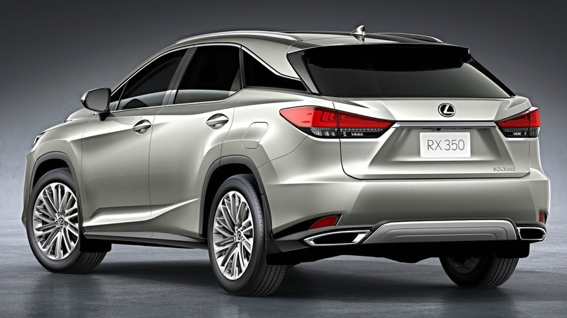 2019 vs 2020 Lexus RX 350 and RX 450hL Hybrid – 7 SEATER, Luxury SUV