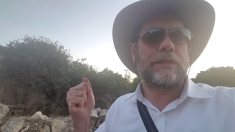 On Location at Ancient Jerusalem Map Site - The Jewish Da Vinci Code