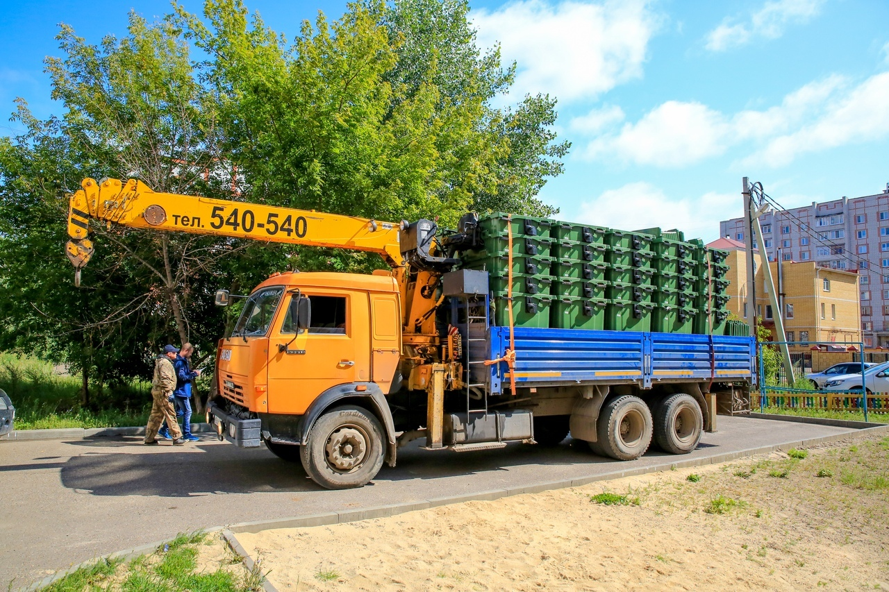 Куда делись контейнеры: мэрия Волжска ответила на вопросы горожан