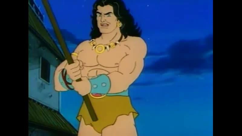 Конан искатель приключений Conan the Adventurer Настоящее и будущее Конана 54 Серия