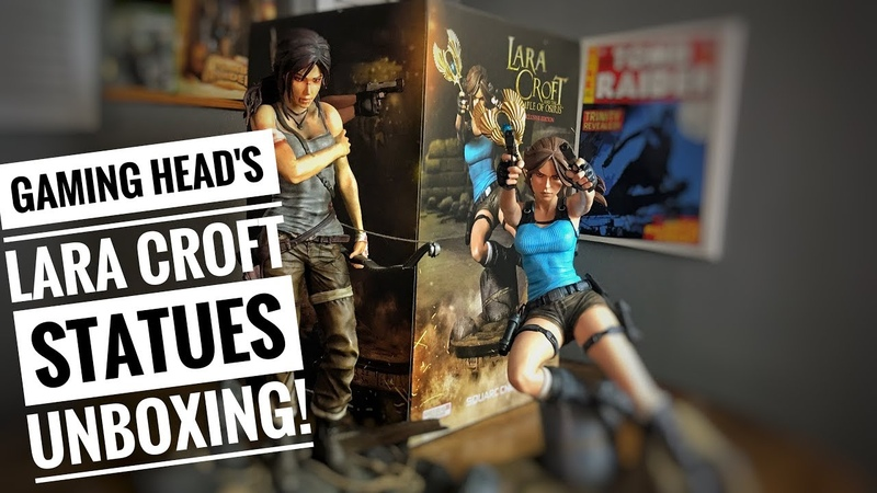 Unboxing and Overview of Gaming Head's Lara Croft Statues