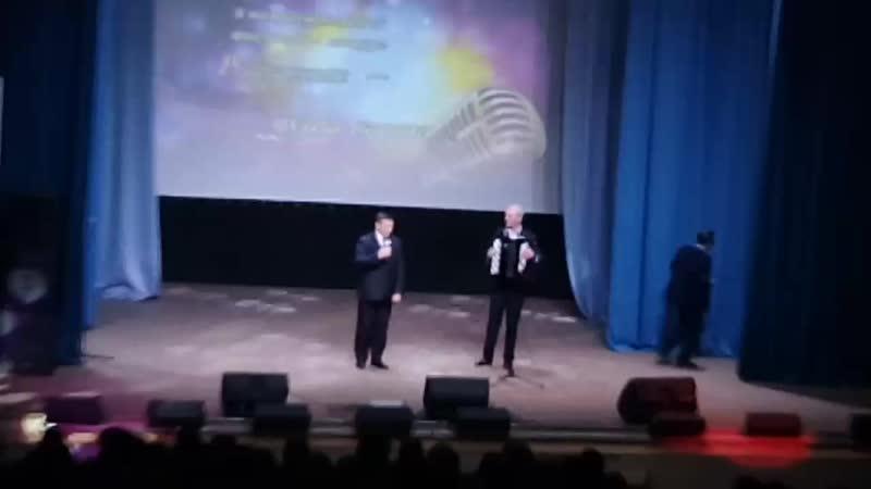 М.Гревцев и О. Шеина на фестивале шансонной музыки