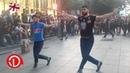 Azerbaycanli reqqaslar Tbilisi'de Yeni gürcü Shalaxo reqsi ❤