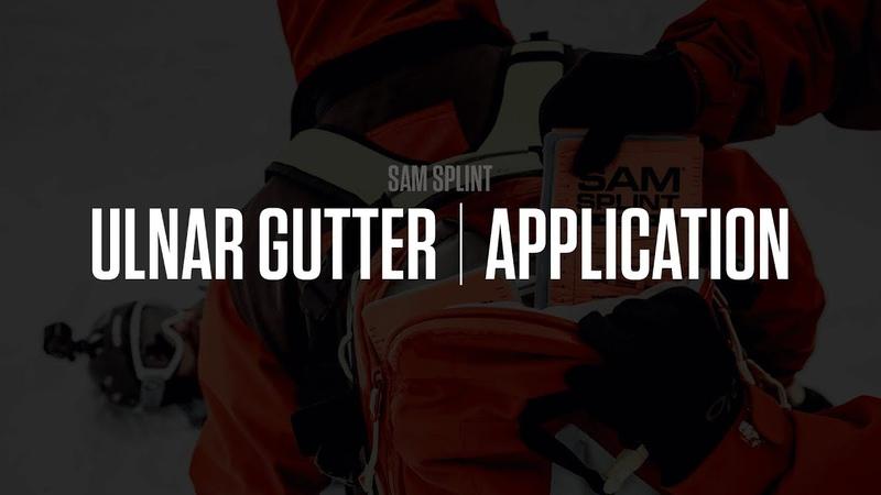 SAM® Splint Training   Ulnar Gutter   SAM Medical