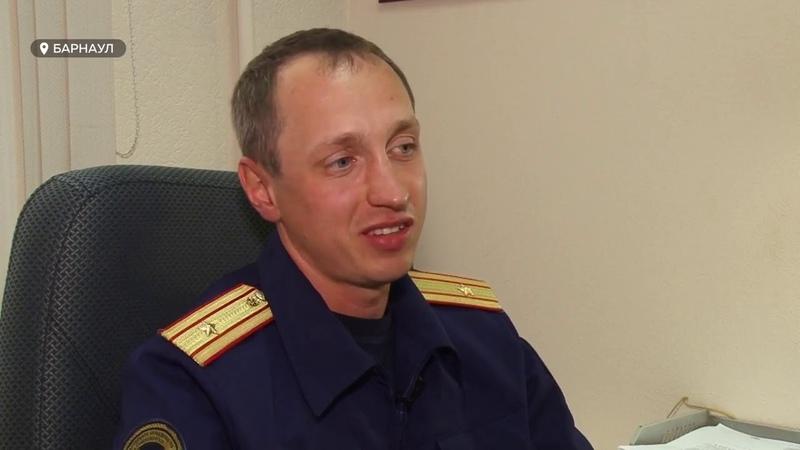 Алтайский следователь о жизни на работе преступлениях и особом подходе к делу в сюжете ТВ ТОЛК