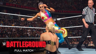 FULL MATCH - Sasha Banks & Bayley vs. Charlotte & Dana Brooke: WWE Battleground 2016