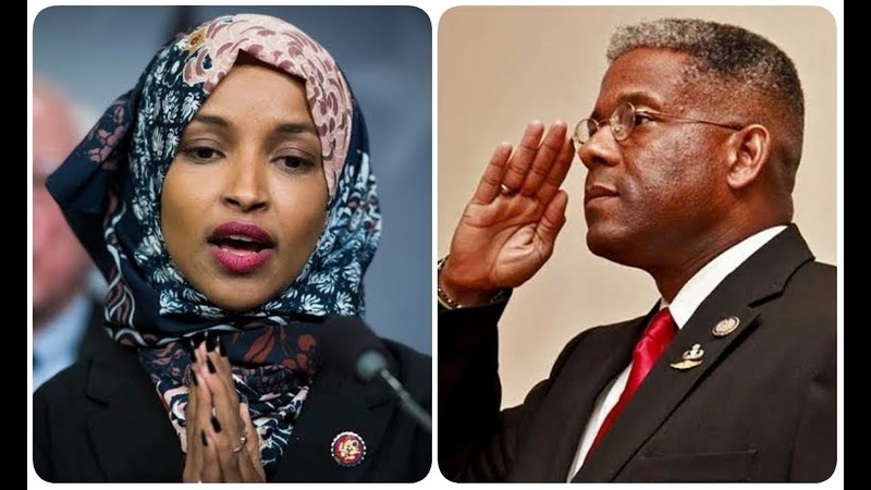 EPIC! Allen West WIPES THE FLOOR with Ilhan Omar on live TV