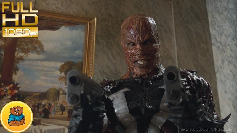 Спаун атакует Винна убивает Джессику Эпизод фильма Спаун Spawn 1997 год