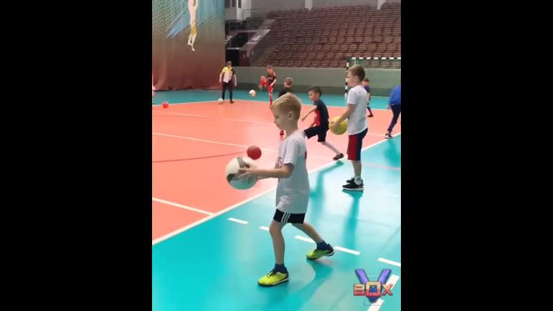 Видео с тренировки Дворец Спорта Томск