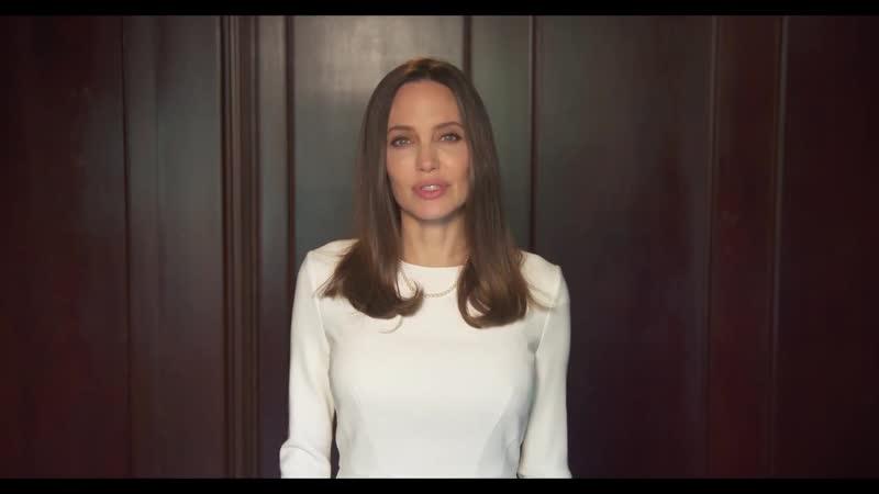 Анджелина о насилии в семье