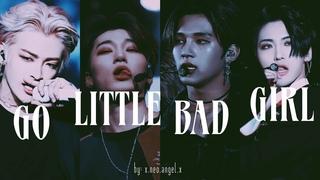 """[ateez demon/thot line] – """"go little bad girl"""""""